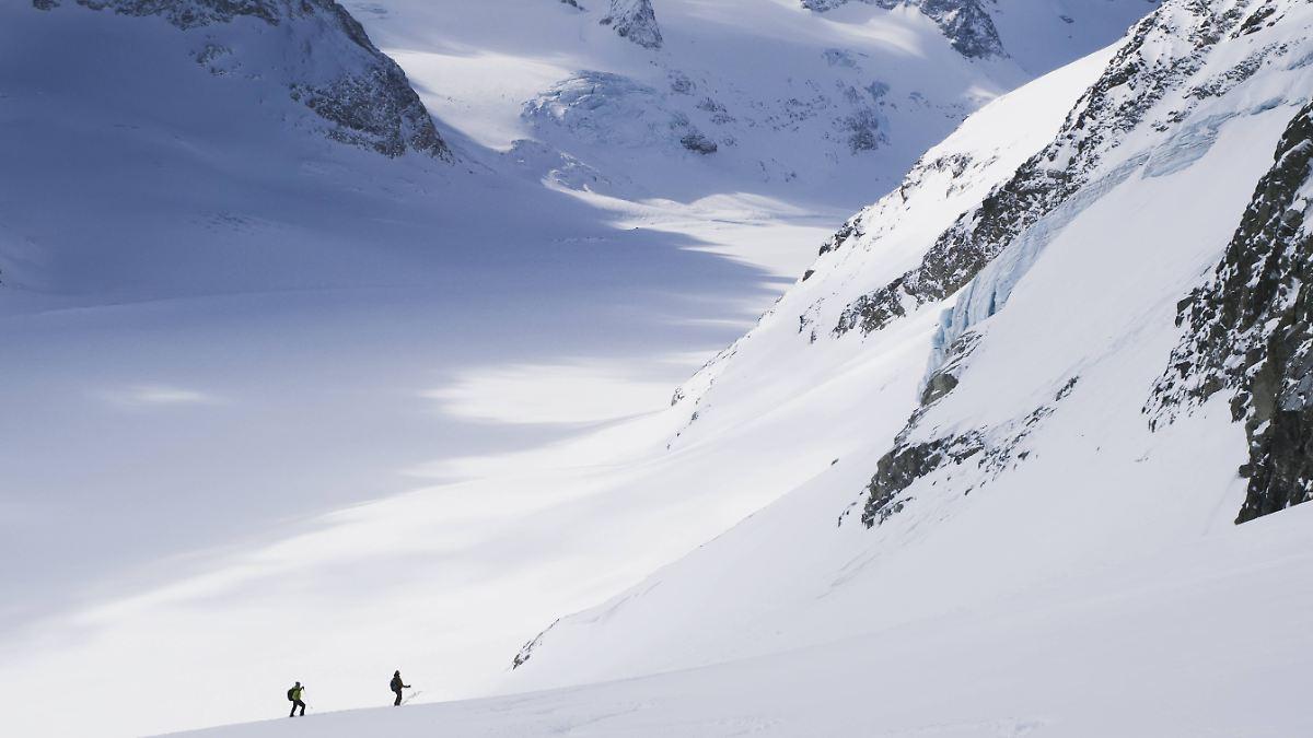 Schmelzende Gletscher legen Schätze frei