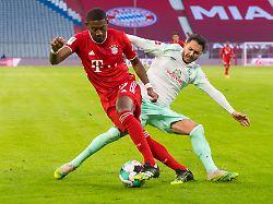 imago0049272347h - Bayers Mega-Patzer, S04 verliert: Bayern patzt im Rekordspiel gegen Werder