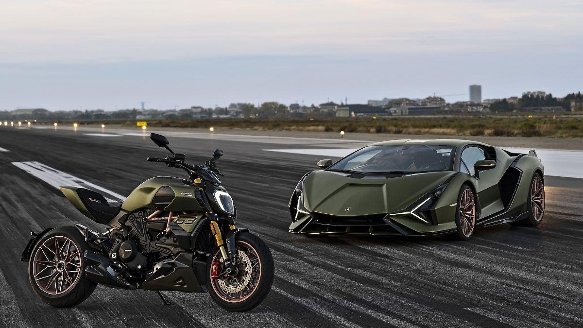 Ducati bringt Lamborghini auf zwei Rädern