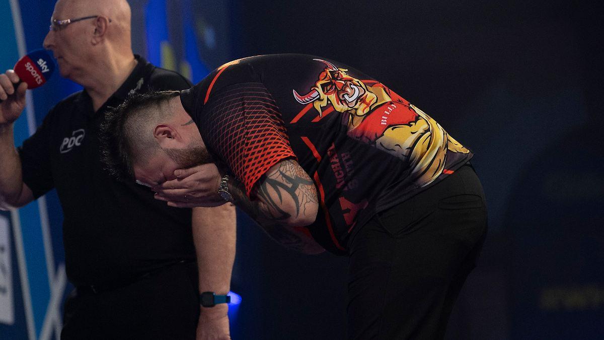"""""""Bully Boy"""" erlebt Desaster bei Darts-WM"""