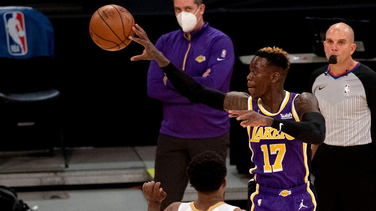 Schröder und seine Lakers marschieren