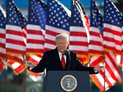 Republikaner wollen Aufschub: Trump-Impeachment könnte Biden ärgern