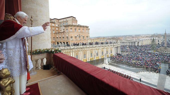 Weihnachtsgrüße in 65 Sprachen: Papst erteilt Urbi et Orbi