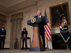 """""""Existenzielle Bedrohung"""": Biden bläst zum Angriff auf den Klimawandel"""