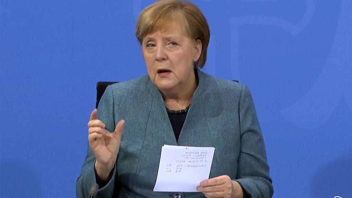 Merkel: Virus-Mutationen schon bei 20 Prozent