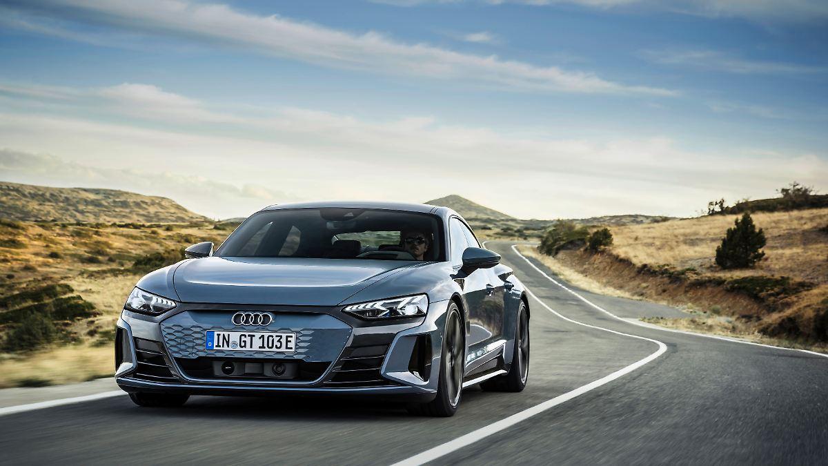 Stromernde Reiselimousine:Audi E-Tron GT - Taycan aus Ingolstadt - n-tv NACHRICHTEN