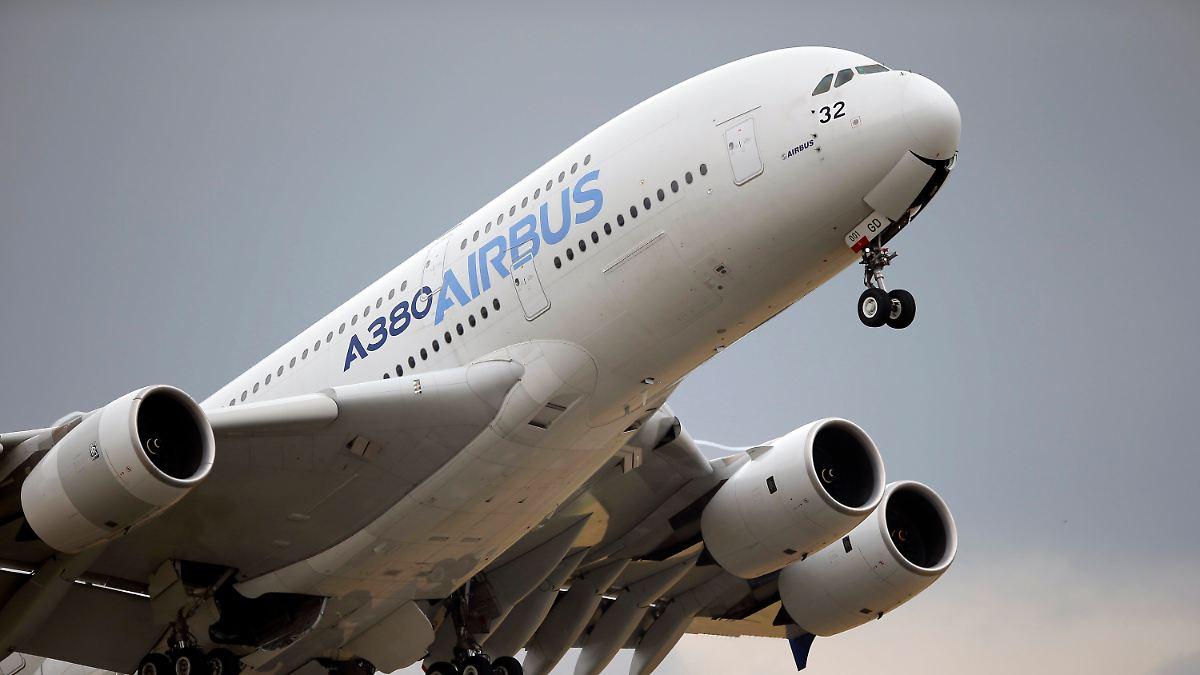 Trotzdem besser als Boeing:Airbus beendet Krisenjahr mit Riesen-Minus - n-tv NACHRICHTEN