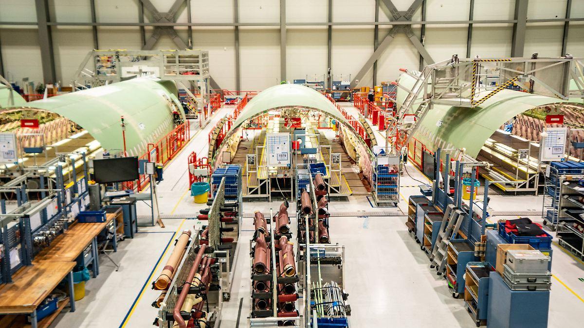 Abfindungen und Kurzarbeit:Airbus verzichtet auf Kündigungen - n-tv NACHRICHTEN