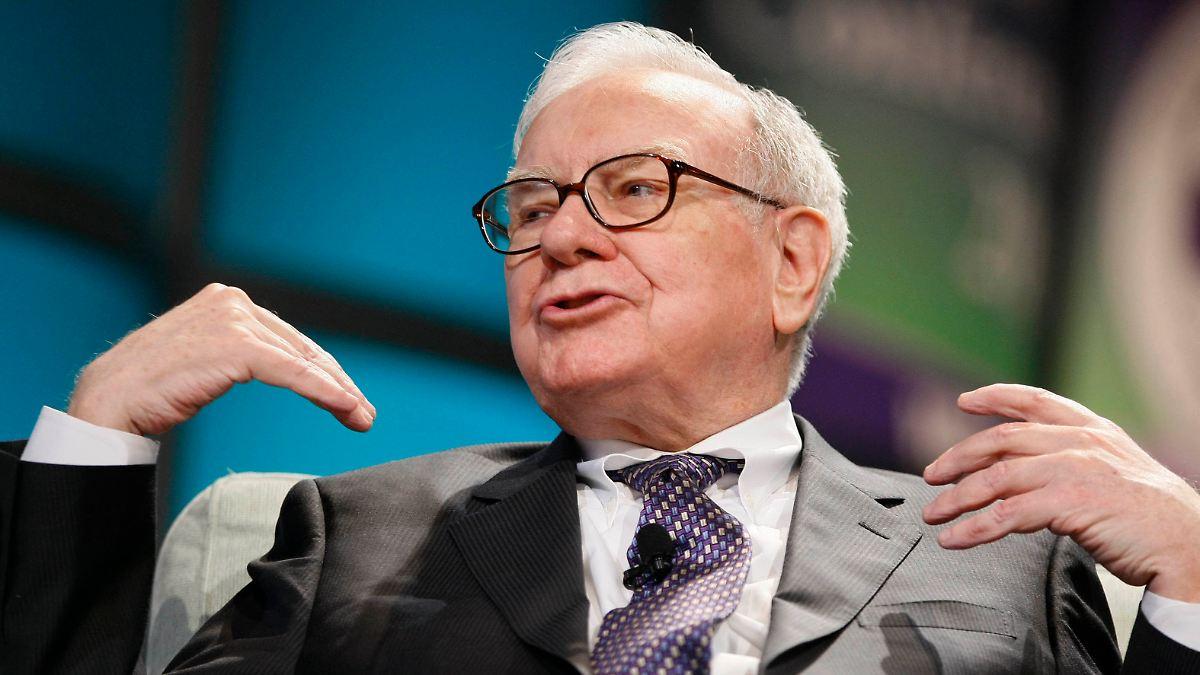 Mehr als 100 Milliarden Dollar:Buffett ist jetzt reicher als reich - n-tv NACHRICHTEN