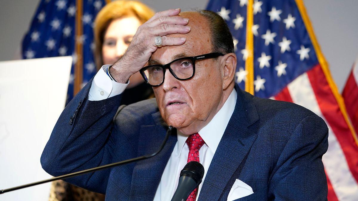Goldene Himbeere winkt:Trump-Anwalt Giuliani für