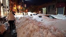 """""""Es ist Zeit für einen Schneemann"""": Selbst New York kommt zur Ruhe"""