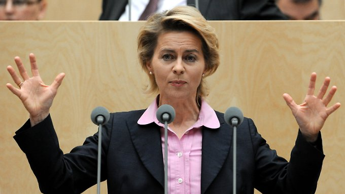 Arbeitsministerin Ursula von der Leyen.