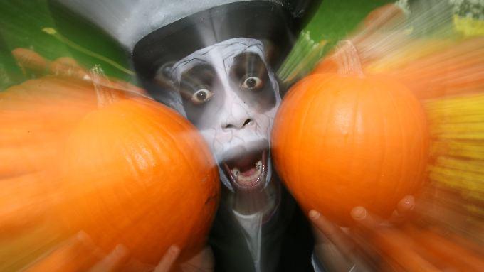 Manchmal ist jeden Tag Halloween...