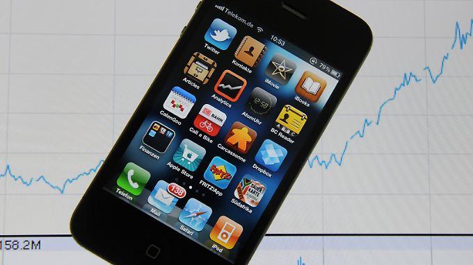 Börsenwert über 300 Milliarden Dollar: Apple durchbricht magische Marke