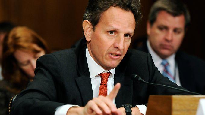 Schlechte Prognose: Geithner warnt vor Pleite der USA