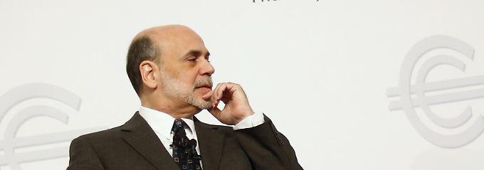 Ben Bernanke ist noch nicht zufrieden, auch wenn die US-Wirtschaft langsam in Fahrt kommt.