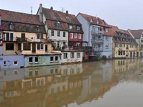 Die Altstadt von Wertheim.