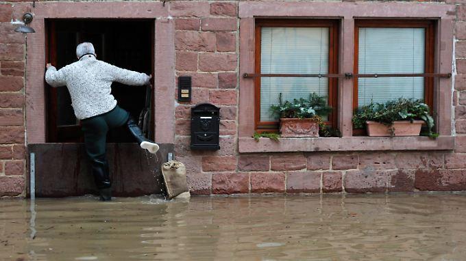 Wertheim erwartet Scheitelpunkt: 450 Gebäude stehen unter Wasser