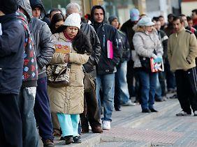 Spanien leidet unter einer hohen Arbeitslosigkeit.