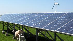 Es wurden weniger Solaranlagen neu errichtet als geplant.