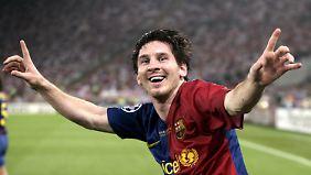 Lionel Messi im Jubelfieber: So mögen ihn die Fans am liebsten.