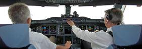 Das Flugzeug-Cockpit: (noch) eine Männer-Domäne.
