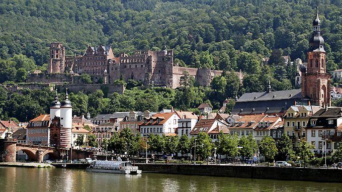 Schön ist's als Student in Heidelberg ...