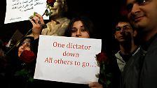 Rebellionspotenzial von Marokko bis Syrien: Hoffnung und Unruhe in der arabischen Welt
