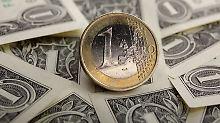 Schwache Inflation belastet: Euro sinkt unter 1,25 Dollar