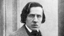 Frédéric Chopin 1849. Das Bild gilt als einzige Fotografie des Musikers.