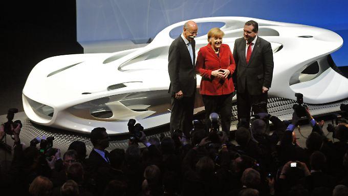 125 Jahre Mercedes: Daimler feiert und blickt in die Zukunft