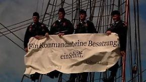 """Schatz verlässt """"Gorch Fock"""": Stamm-Crew zeigt sich solidarisch"""