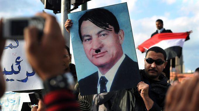 """""""Weg mit Mubarak"""": Ägypten droht Anarchie"""