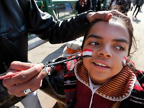 Das Gesicht der arabischen Revolution ist jung.