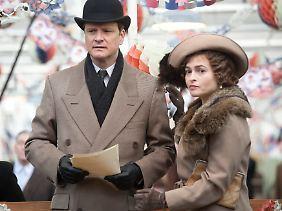 Wichtiger Rückhalt: Albert mit seiner Frau Elizabeth, dargestellt von Bonham Carter.