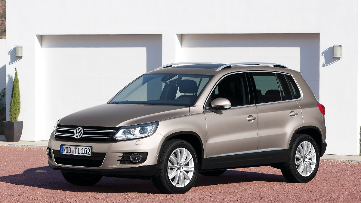 vw tiguan aufgefrischt in genf facelift f r ein erfolgsmodell n. Black Bedroom Furniture Sets. Home Design Ideas
