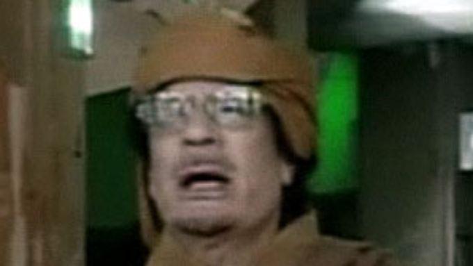 """Gaddafi schäumt vor Wut: """"Ich werde als Märtyrer sterben"""""""