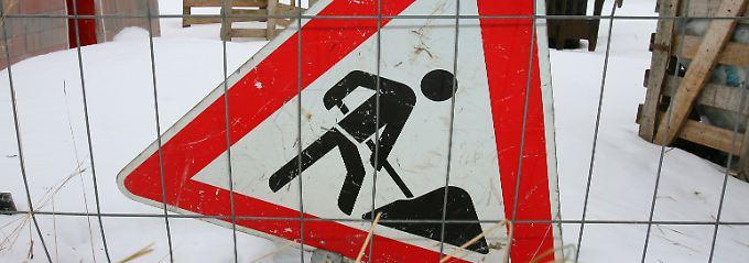 Winterhalbjahr 2010/11: Still und starr ruht ... der Bau.