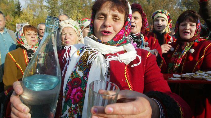 In Sachen Alkohol steht die Ukraine an der tödlichen Spitze.