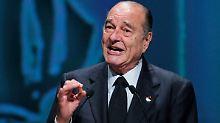 Chirac muss sich vor Gericht verantworten.
