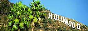 Weltberühmtes Wahrzeichen: Das Original des Hollywood-Schriftzugs sollte in den 1920er Jahren eigentlich nur eineinhalb Jahre lang für Grundstücke werben.