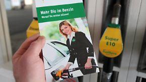 Einführung von Biosprit E10: Koalition steht vor Streit