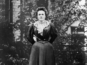 Clara Zetkin hatte den Internationalen Frauentag initiiert. (Foto von 1897)