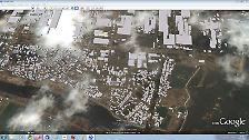 Neue Satellitenbilder von Japan: Google dokumentiert Zerstörungen