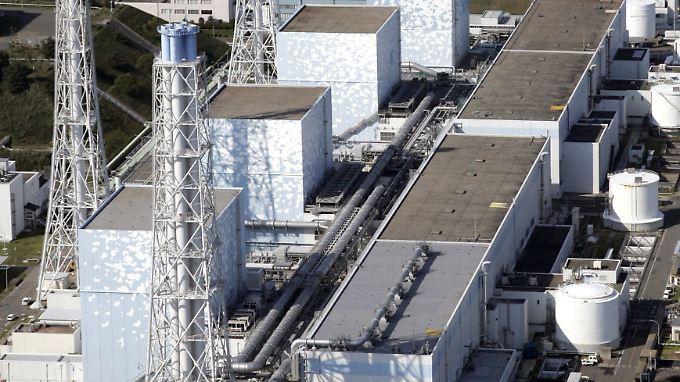Das AKW Fukushima vor dem Unfall.