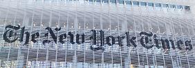 """Abschied vom Kostenlos-Konzept: """"New York Times"""" will Geld sehen"""