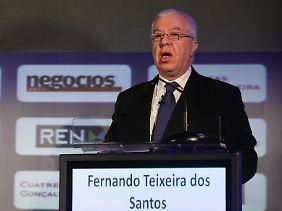 """Fernando Teixeira dos Santos: """"Portugal wird in die Arme ausländischer Hilfen getragen."""""""