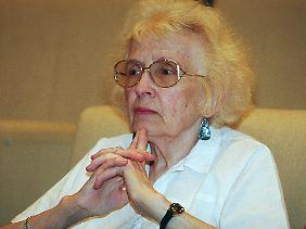Uljanowa auf einem Foto von 1999.