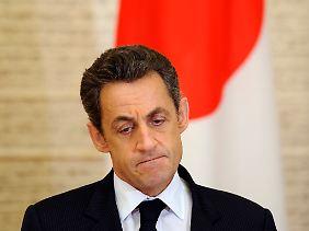 Nicolas Sarkozy kann gerade keine weiteren Störfeuer gebrauchen.