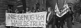 Evelyn Zupke, 1989: Als der Betrug bewiesen wurde